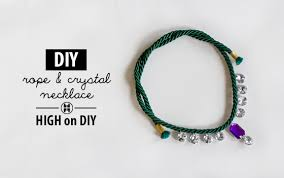 crystal rope necklace images Diy rope crystal necklace high on diy jpg