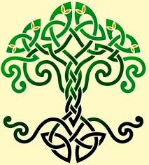 green ink and amazing tree of celtic knot golfian com