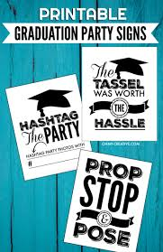 graduation sign printable graduation signs for graduation oh my creative