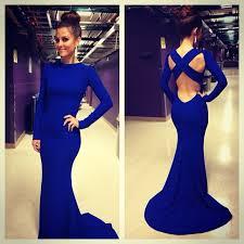 robe de mariã e colorã e de soiree robe mermaid evening dress 2016 high neck criss