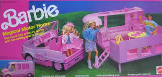 barbie magical motor mattel 1990 playsets amazon canada