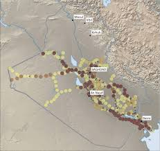 Cell Phone Service Map Iraq Empirical Studies Of Conflict