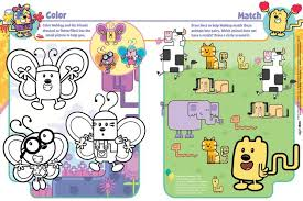 wow wow wubbzy coloring pages free happy friday 13th 100043