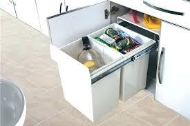 poubelle cuisine tri s駘ectif 2 bacs poubelle cuisine tri poubelle cuisine encastrable ikea meuble a