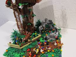 lego ideas forestmen u0027s tree house
