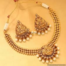 fashion jewellery necklace set images Artificial temple jewellery necklace set south india jewels jpg