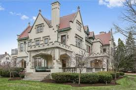 enormous limestone mansion in oak park lists for 2 5m curbed