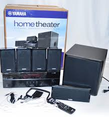 yamaha 5 1 home theater yamaha 650w 5 1 channel 3d home theater system black yht 4920ubl