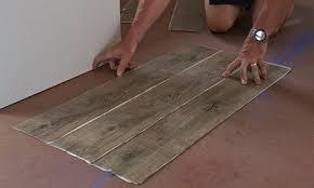 Vinyl Flooring Installation How To Lay Vinyl Plank Flooring Video Bunnings Warehouse