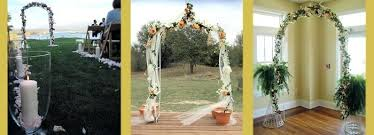 wedding arches using tulle decorated wedding arches wedding arch flowers decoration