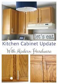 update kitchen cabinets easy kitchen cabinet update with sleek modern hardware