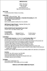 Resume Accounting Examples download sample resume for accounting position
