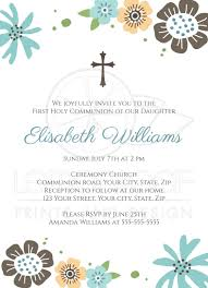 First Holy Communion Decorations Free First Holy Communion Invitations For Girls 1st First Holy