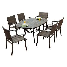 Best  Outdoor Dining Set Ideas Only On Pinterest Outdoor Farm - 7 piece outdoor dining set with round table