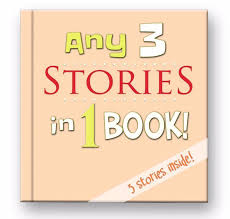 any 3 personalized stories of your choice a personalized bedtime