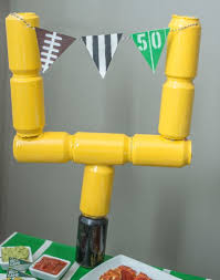 football party decorations diy football party decorations