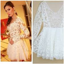 white lace prom dress sale white lace formal mini flowing dress prom dress