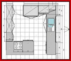 kitchen design floor plan