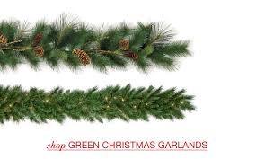 valuable idea green garland garlands uk with lights