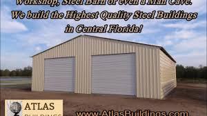 custom steel buildings workshops metal building garage osceola