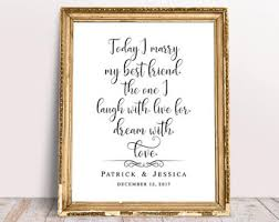 wedding quotes wedding quotes etsy
