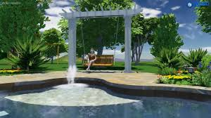Swing Pergola by Stock Fiberglass Swing Arbor With Square Columns 12 U0027 X 3 U0027 Youtube