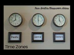 free morning message telling time set up time zone clocks in