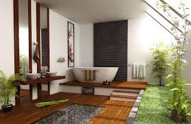 Oriental Bathroom Decor Bathroom Simple Asian Bathroom Decor With Round Grey Painted