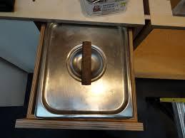 modern kitchen bins eugene modern monkey green kitchen feature item built in compost