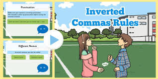 inverted commas rules powerpoint inverted commas rules