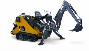 mini skid steer backhoe attachment with 12
