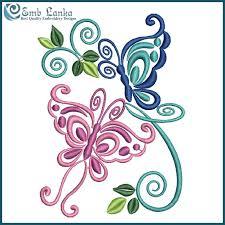 embroidery designs flowers and butterflies makaroka com