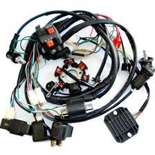 Atv Solenoid Wiring Diagram Amazon Com Jcmoto Wiring Harness Loom Kit Cdi Rectifier Key