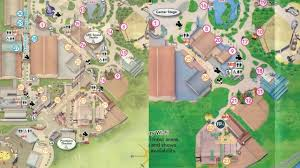 Disney Florida Map by New Disney U0027s Hollywood Studios Map Shows Major Changes At Theme