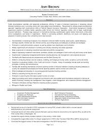 cover letter sample financial service consultant resume sample