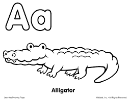 alphabet coloring pages for toddlers getcoloringpages com