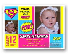 this awesome batgirl birthday invitation will be custom made with