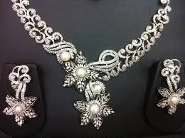 new diamond necklace images Diamond necklace set view specifications details of diamond jpg