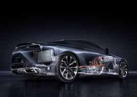 lexus lc500h fuel economy surprise lexus lc 500h revealed