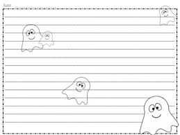 printable halloween writing paper templates by highs and lows of