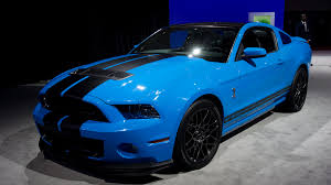 Ford Shelby Gt500 Engine Ford Boosts Mustang Shelby Gt500 To 650 Hp For 2013 Model Autoweek