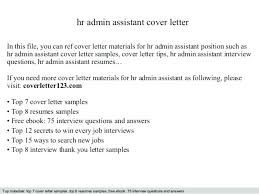 Sample Resume Of Administrative Assistant Sample Resume For Administrative Assistant Position Hr