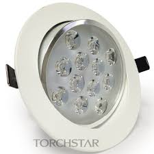 warm led recessed lights ac85 265v 12w directional led recessed ceiling light torchstar