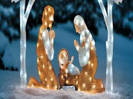 outdoor christma decoration nativity outdoor