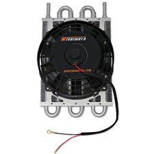 Mishimoto Heavy Duty Transmission Oil Cooler Kit W Fan Universal