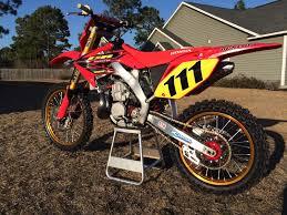 honda cr 500 2004 cr500 aluminum frame conversion respect the beast u0027s bike