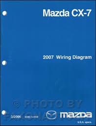 2007 mazda cx 7 wiring diagram manual original