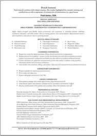 free resume template accounting clerk tests for diabetes entry level dental assistant resume resume exles pinterest