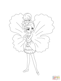 thumbelina coloring page free printable coloring pages