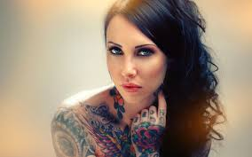 awesome tattoo model wallpaper 1920x1200 25956
